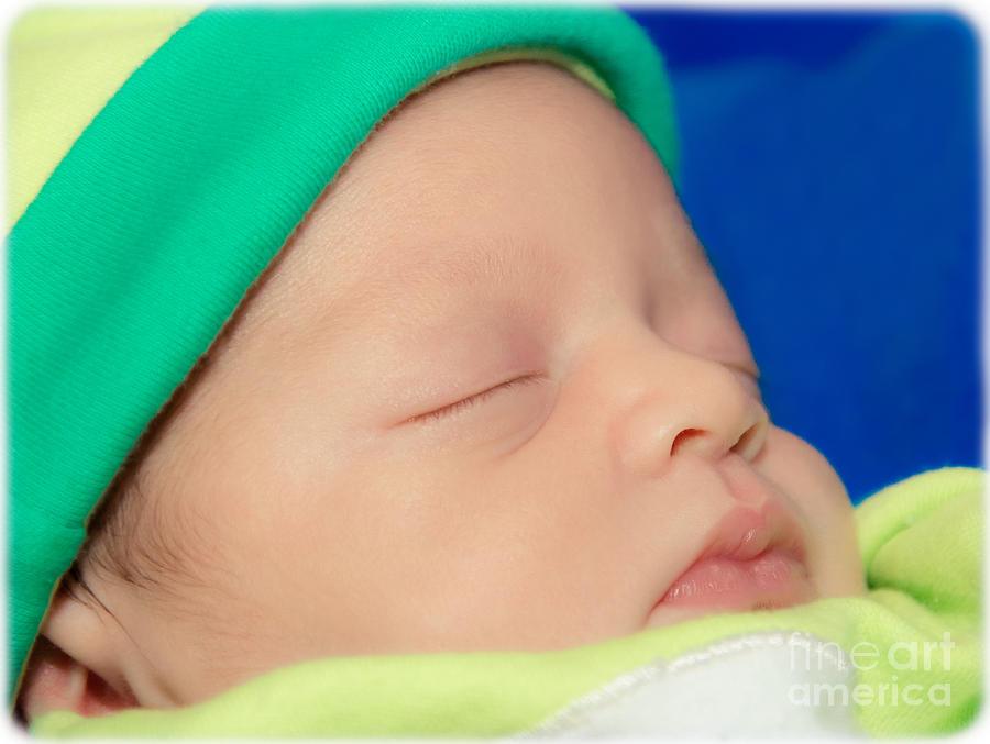 Newborn Photograph - Hush by Christine Nunes