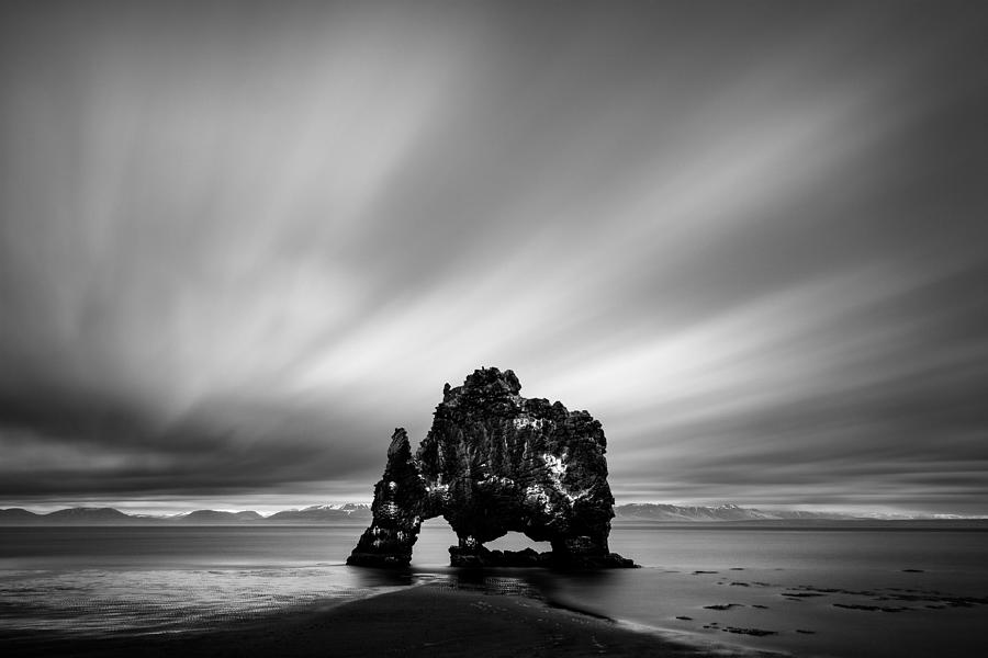 Hvitserkur Photograph - Hvitserkur by Dave Bowman