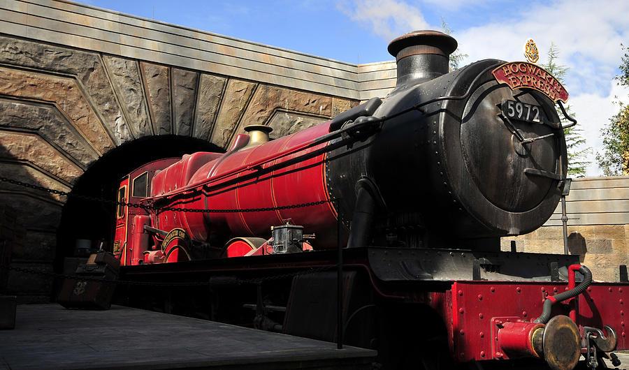 Fine Art Photography Photograph - Hogwarts Express Train Work A by David Lee Thompson