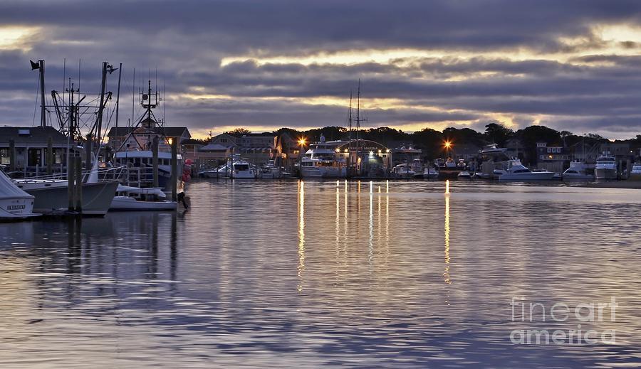 Massachusetts Photograph - Hyannis Sunset by Karin Pinkham