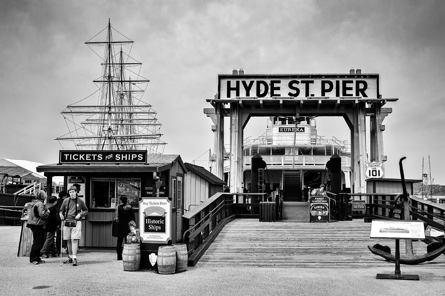 San Francisco Photograph - Hyde St. Pier by Tomasz Dziubinski