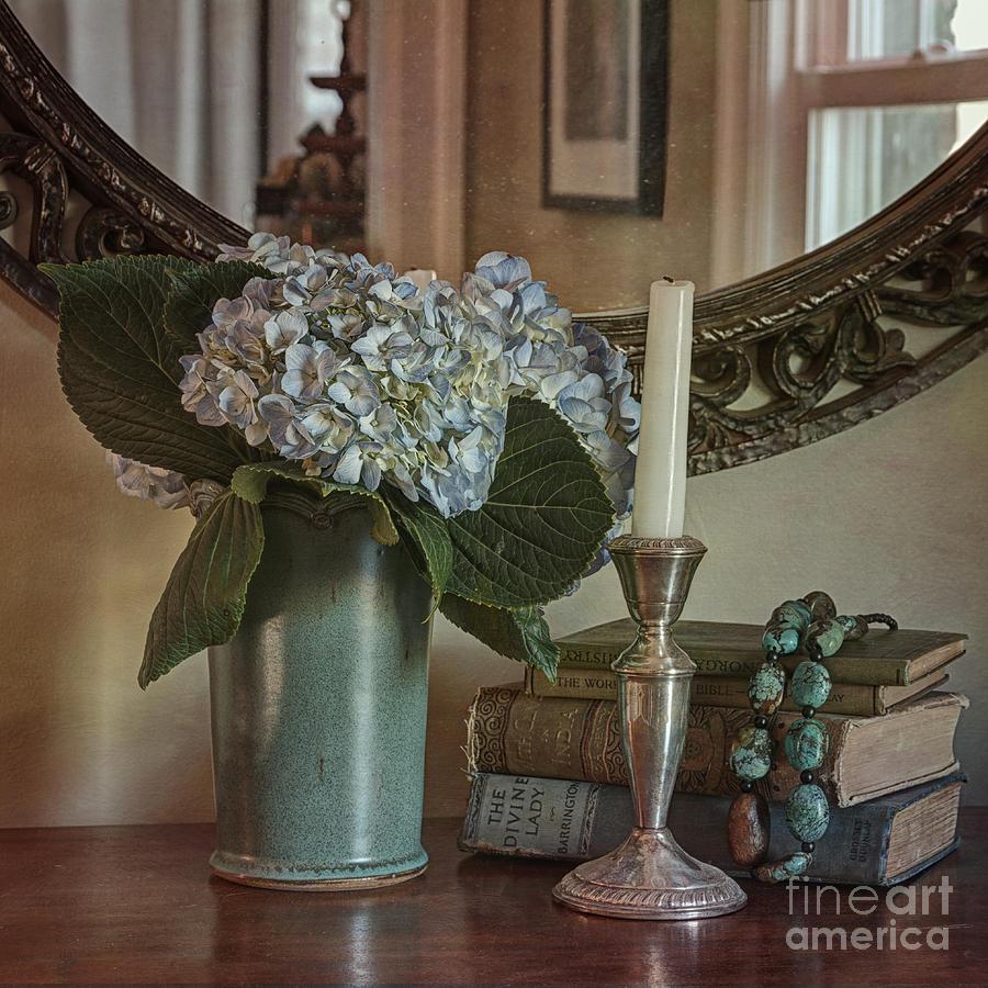 Hydrangea Photograph - Hydrangea Still-life by Terry Rowe