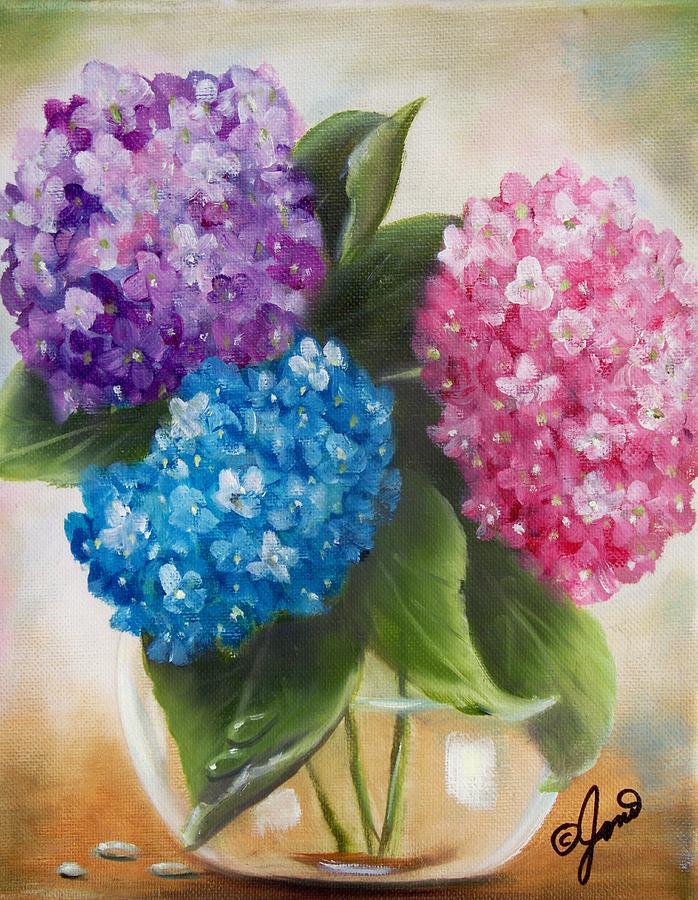 Hydrangeas by Joni McPherson