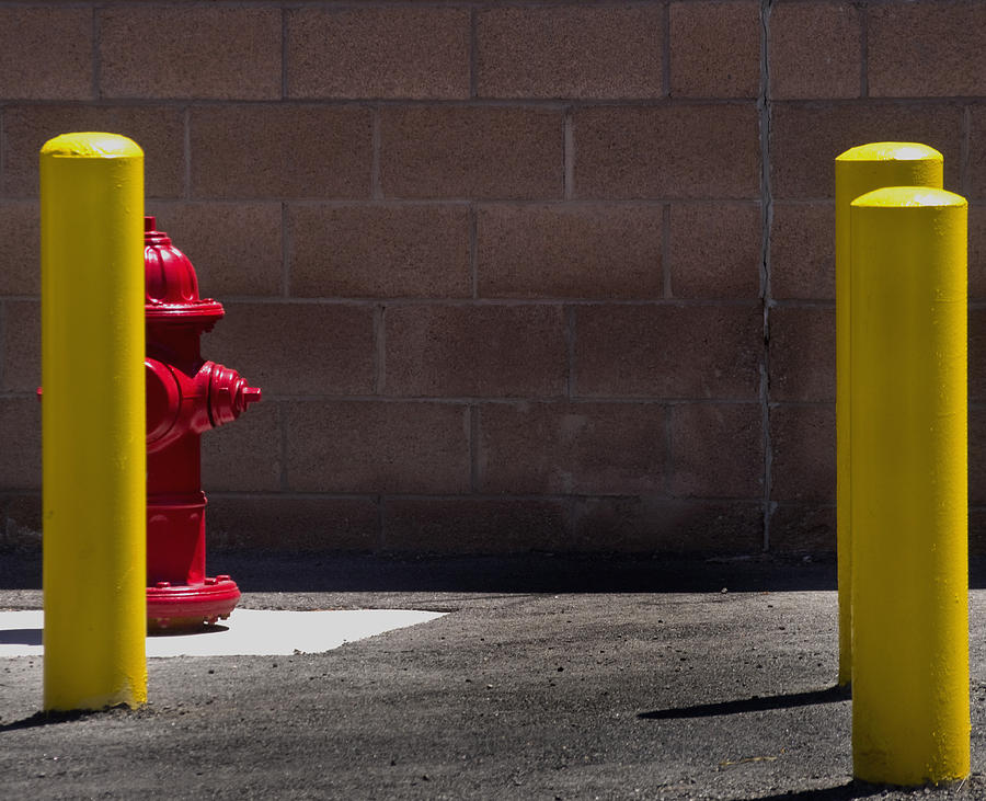 Yellow Photograph - Hydrant by Kevin Duke