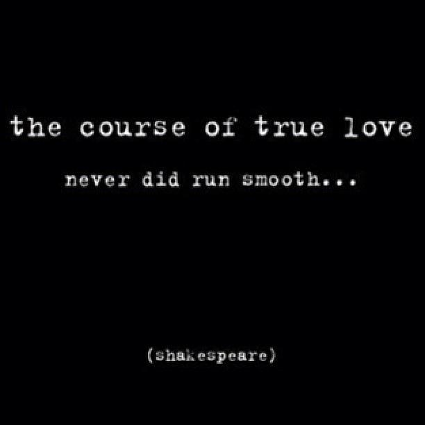 """true love never did run smooth essay Midsummer night's dream shakespeare this is not an example of the work written by our professional essay """"the course of true love never did run smooth."""