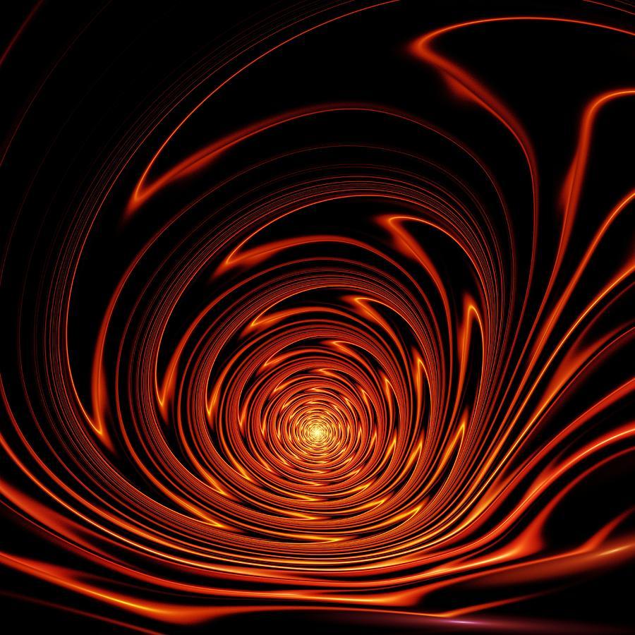 Mesmerism Digital Art - Hypnosis by Anastasiya Malakhova