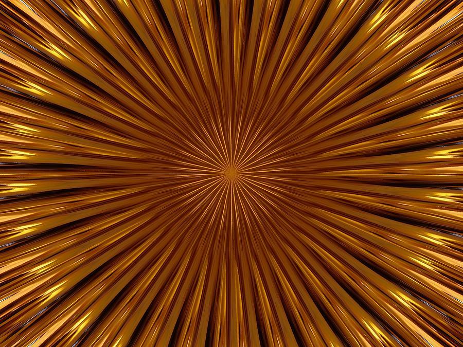 Fractal Photograph - Hypnosis by David Dunham