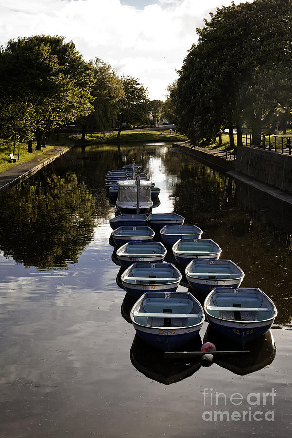 Hythe Photograph - Hythe Military Canal Kent by Lesley Rigg