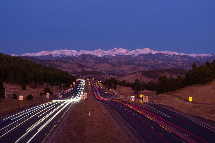I-70 West, Colorado Photograph by Sparty1711