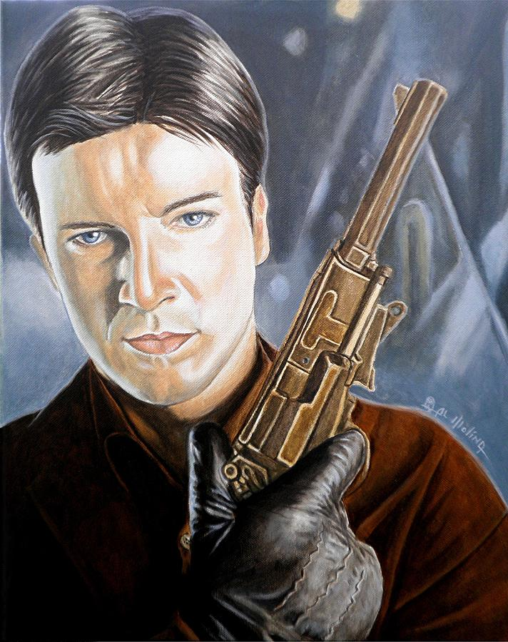 Firefly Painting - I Aim To Misbehave by Al  Molina