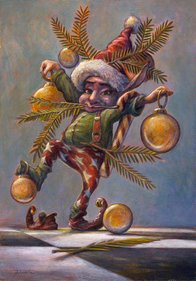 Fantasy Painting - I Am A Tree by Leonard Filgate