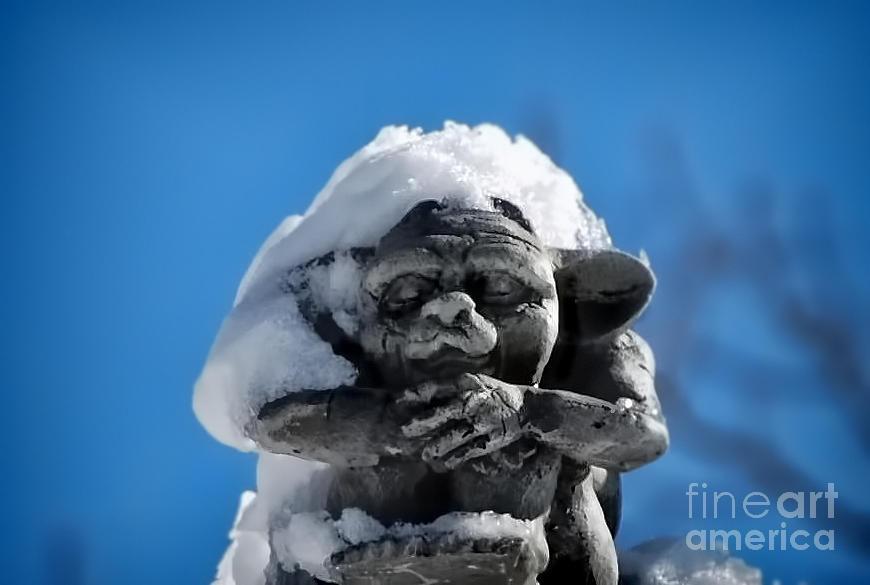Artwork Photograph - I Am Cold by Alexandra Jordankova