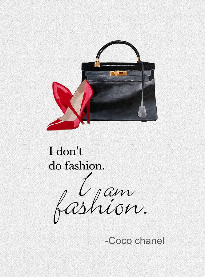 Fashion Mixed Media - I Am Fashion by My Inspiration