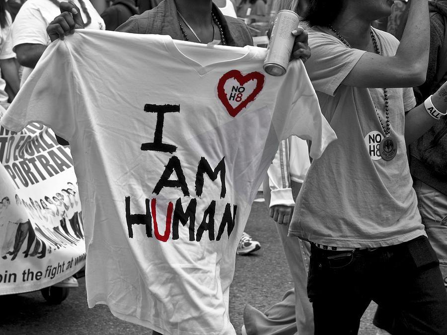 I Am Human Photograph