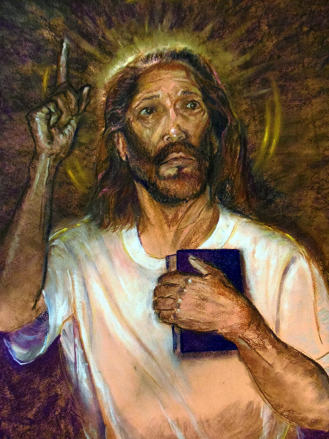 Jesus Pastel - I Am The Way The Truth And The Life by Tommy Winn
