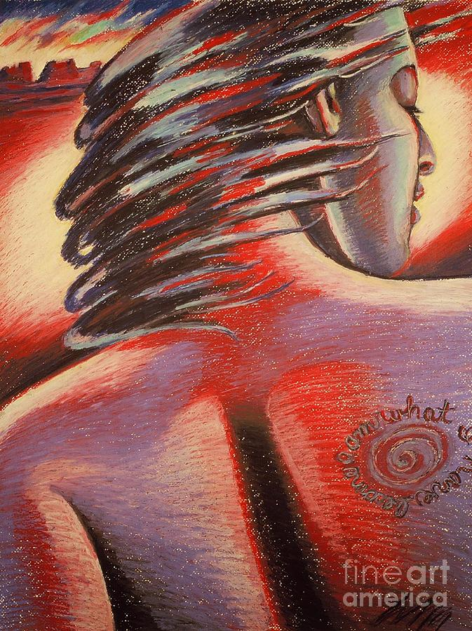Tatoo Painting - I Am What I Have Become by Shelley Laffal