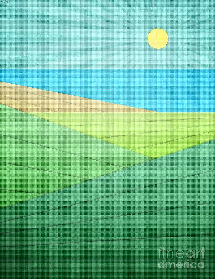 Beach Digital Art - I Can See The Beach by Phil Perkins