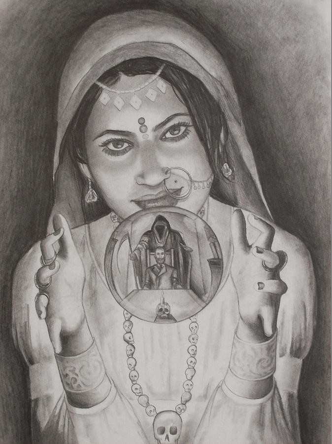Roma Drawing - I Can See The Future by Amber Stanford