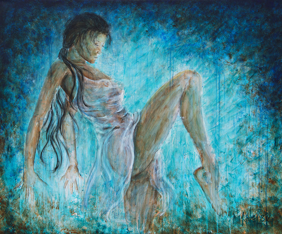 i dance alone painting by nik helbig