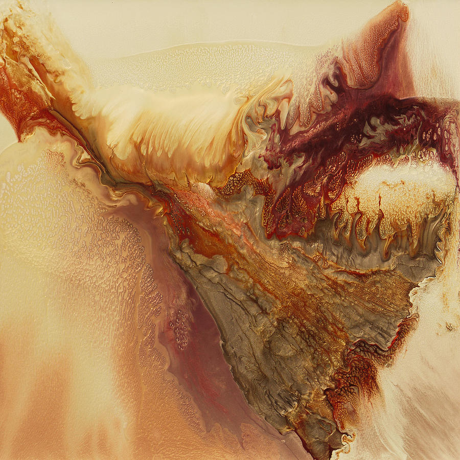Flight Painting - I Dreamed I Could Fly by Lia Melia