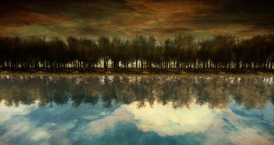 Landscape Digital Art - I Forget What Eight Was For by Whiskey Monday