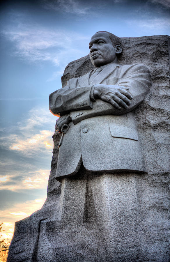Martin Luther King Jr Memorial Photograph - I Have A Dream by JC Findley