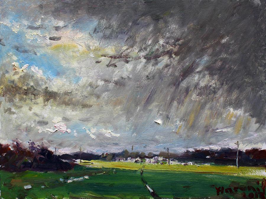 Rain Painting - I Just Beat The Rain by Ylli Haruni