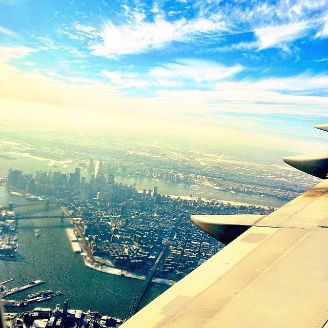 Here Photograph - I Like The View From #here. New York, Ny by The Fun Enthusiast