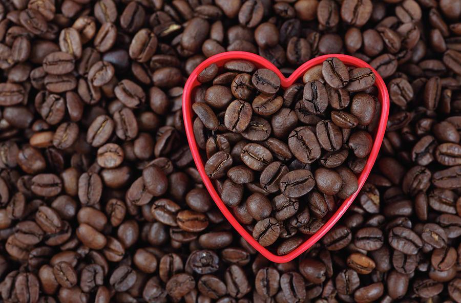 I Love Coffee Photograph by Ekaterina79