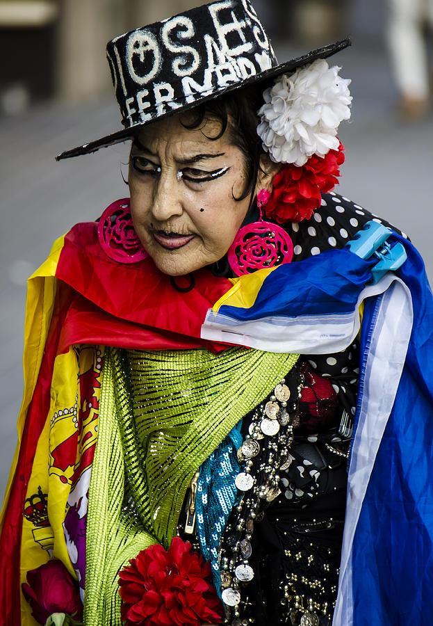 Adult Photograph - I Love Colors by Sotiris Filippou