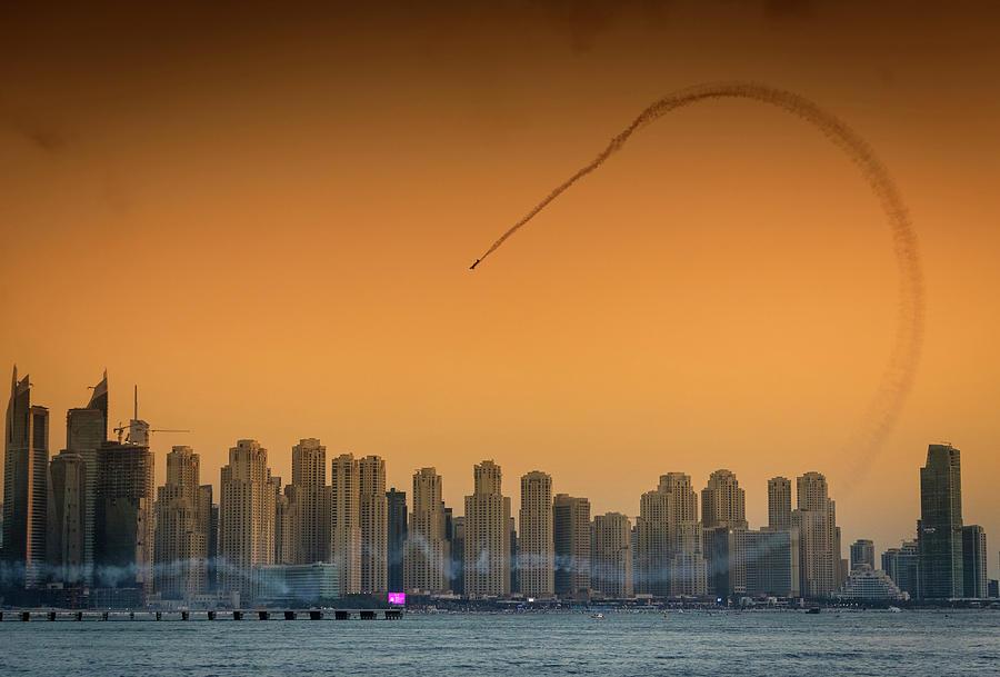 Dubai Photograph - I Love Flying Planes by Attila Szabo