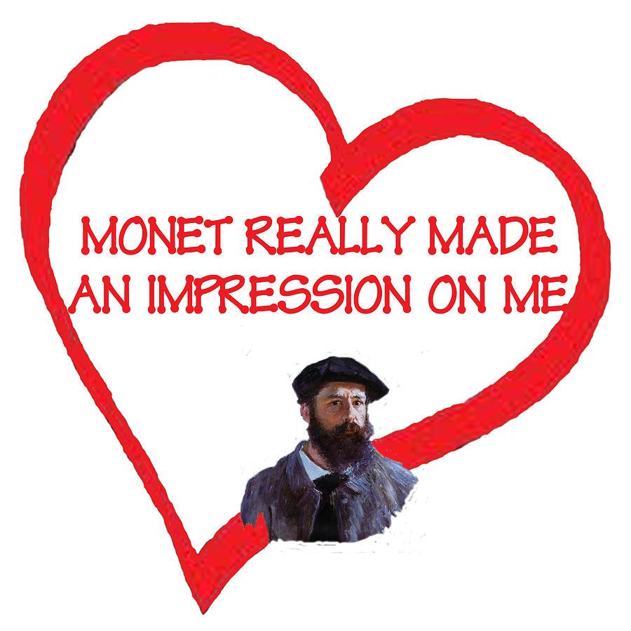 Monet Digital Art - I Love Monet by Philip Ralley