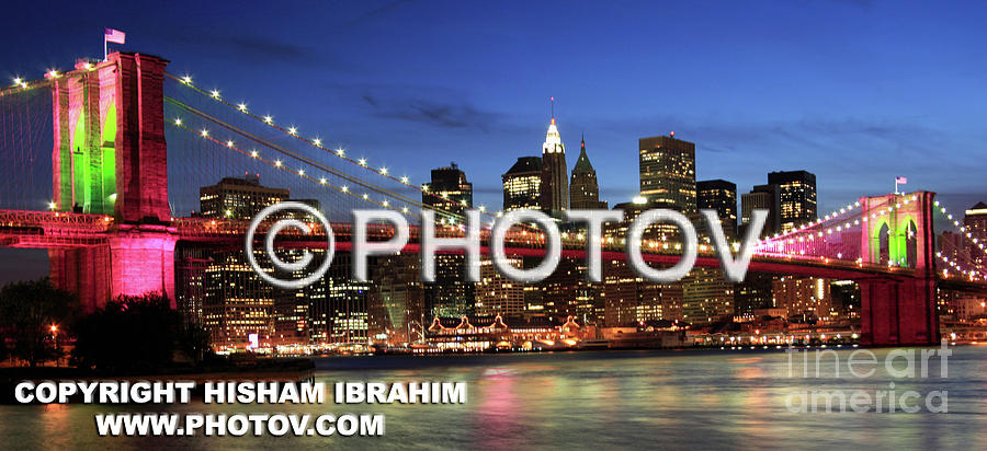 Usa Photograph - I Love New York -  Limited Edition by Hisham Ibrahim