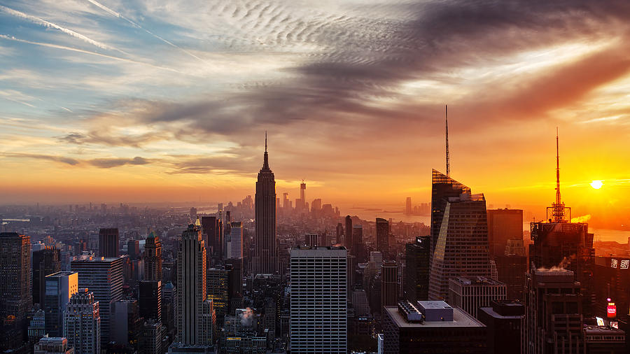 New York Photograph - I Love New York by Maico Presente