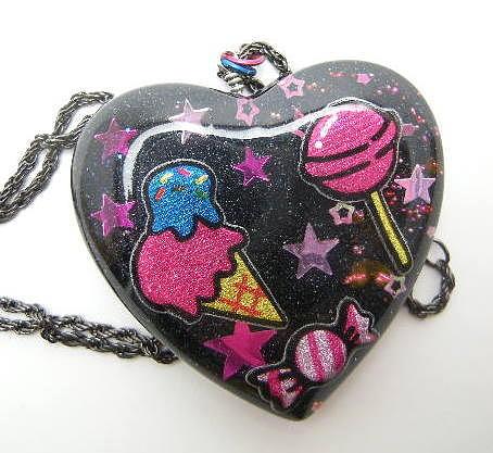 Kitsch Jewelry - I Love Sweets by Razz Ace