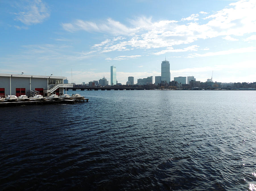 Boston Photograph - I Love That Dirty Water by Mike Greco
