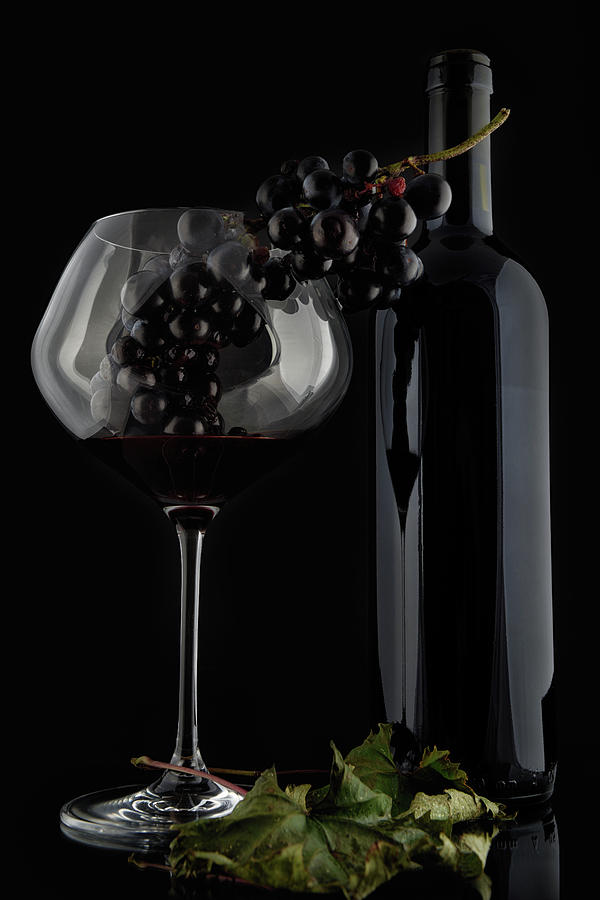 Still Life Photograph - I Love Wine ! V by Alessandro Fabiano