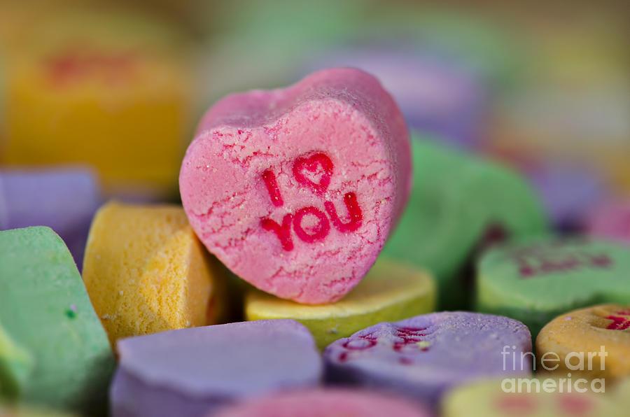 I Love You Photograph - I Love You by Nicole Markmann Nelson