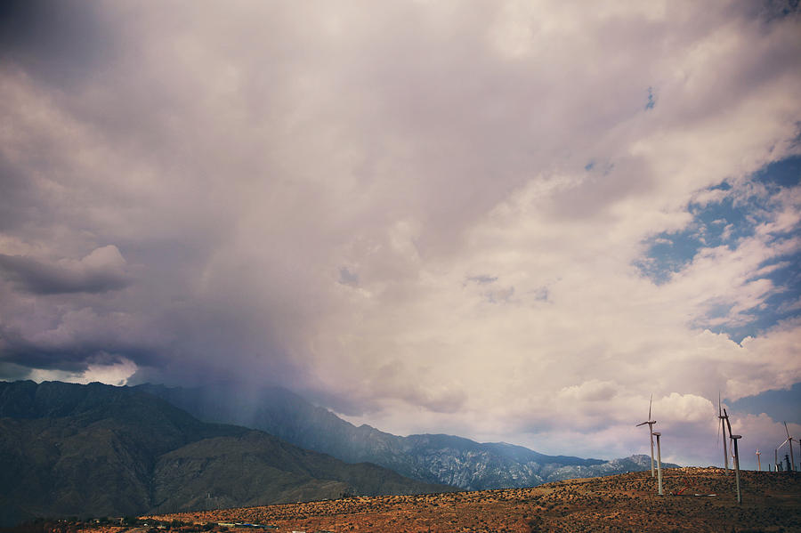 Palm Springs Photograph - I Predict Rain by Laurie Search