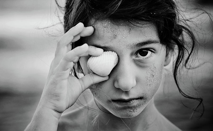 Portrait Photograph - I \sea\ You... by Svetlana Bekyarova