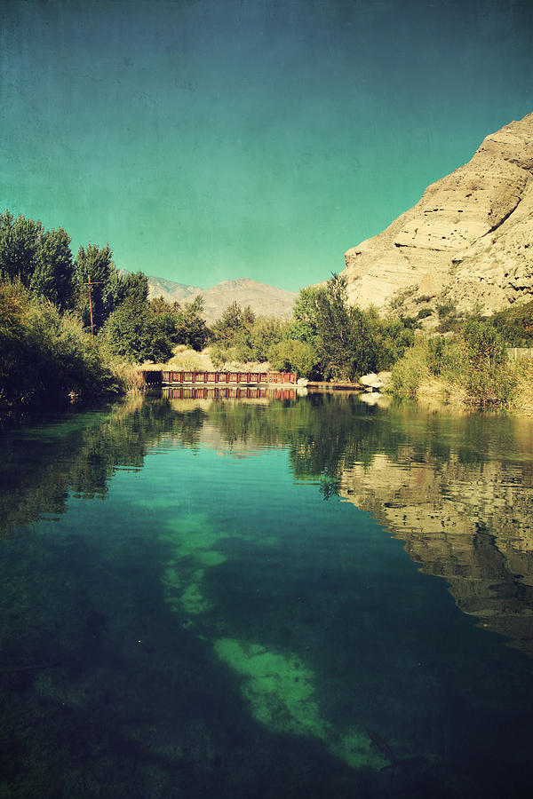 Whitewater Preserve Photograph - I See Right Through by Laurie Search