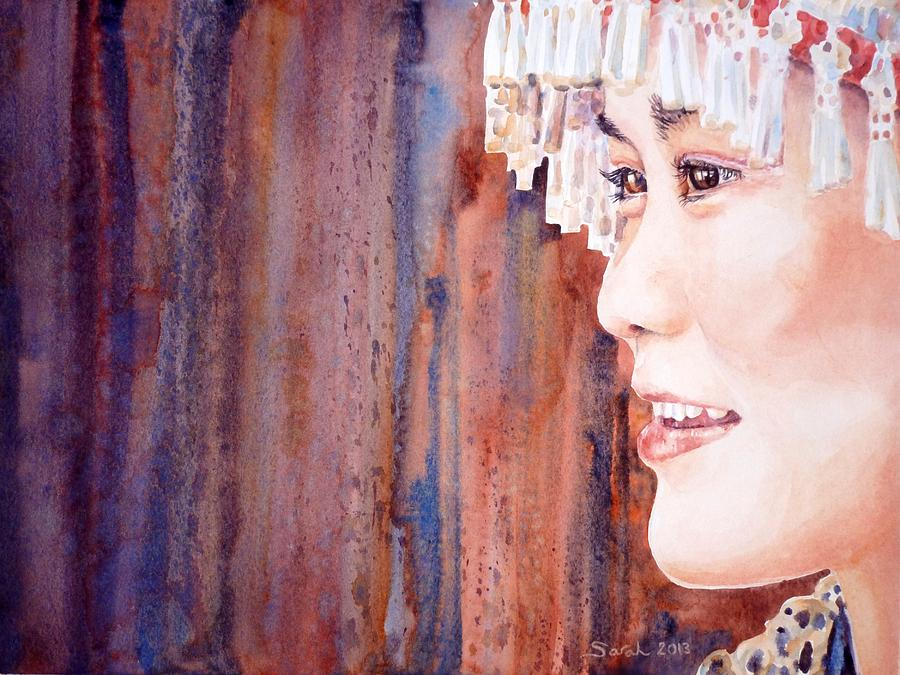 China Painting - I See by Sarah Kovin Snyder