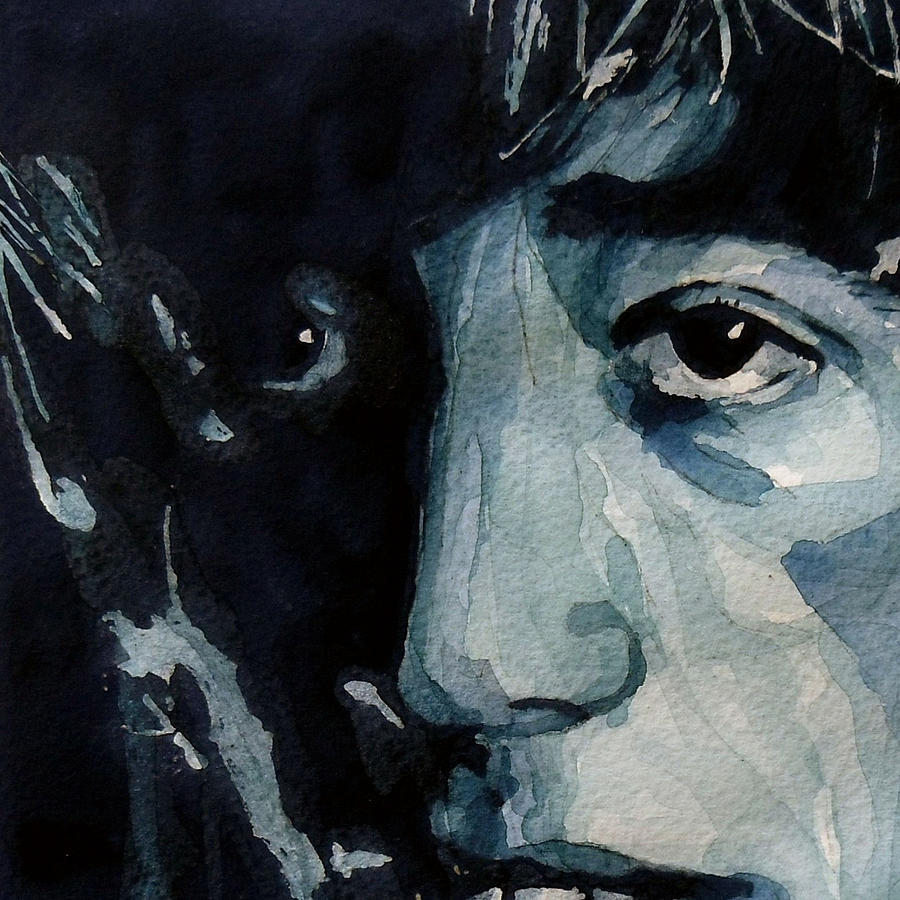 Robin Gibb  Painting - I Started A Joke by Paul Lovering