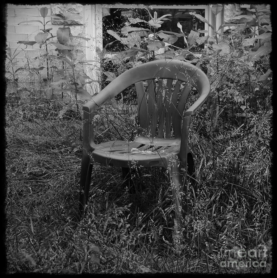 Chair Photograph - I Used To Sit Here by Luke Moore