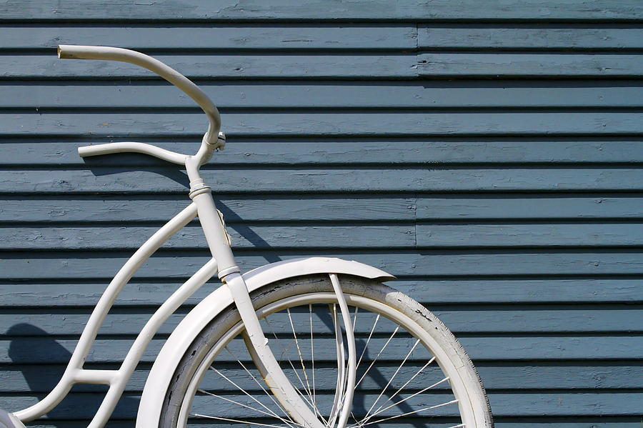 Still Life Photograph - I Want To Ride My Bicycle by Chuck De La Rosa