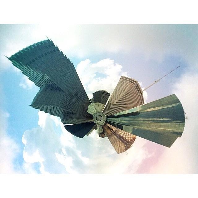 Houston Photograph - Tiny City by Blake Fountain