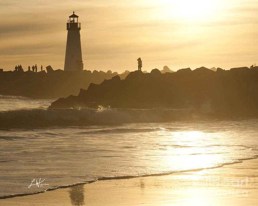 Santa Cruz Harbor Photograph - I Will Wait For You Forever by Artist and Photographer Laura Wrede