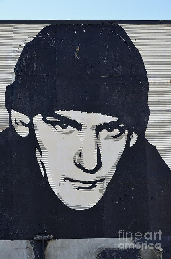 Shepard Fairey Photograph - Ian Mackaye by Allen Beatty