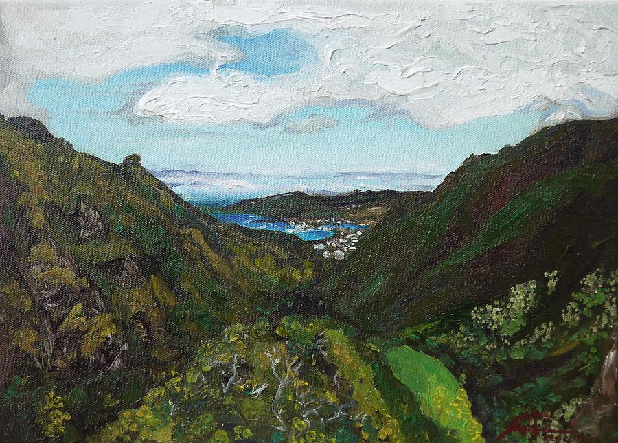 Iao Painting - Iao Valley by Joseph Demaree