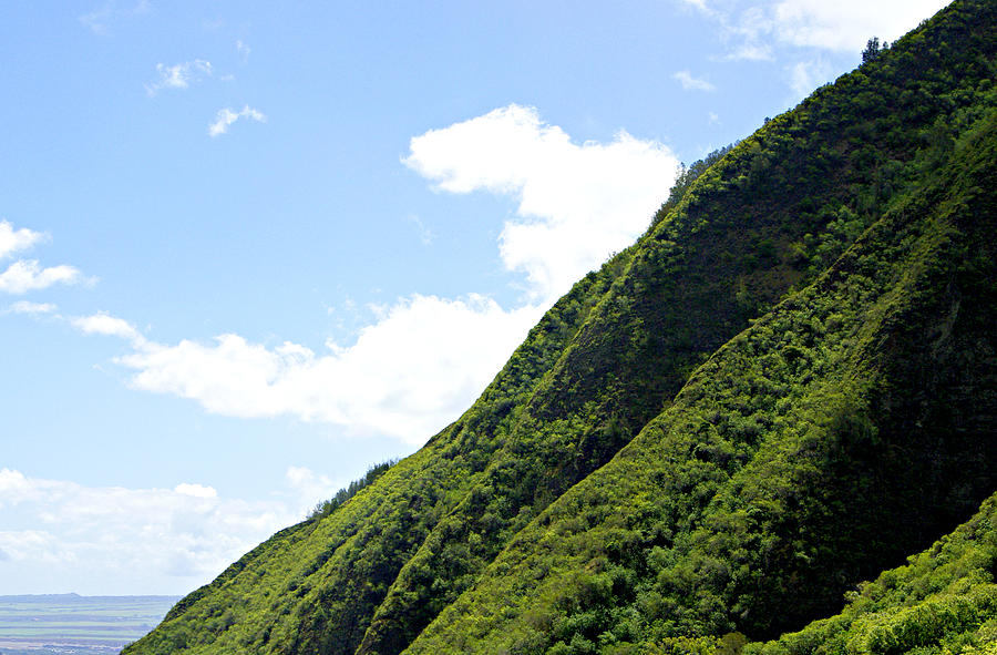 iao valley mountain slopes photograph by marilyn wilson